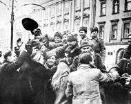 Historická fotografia z oslobodenia