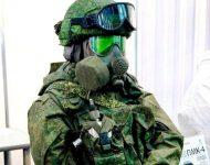 Na snímke vojak vo výstroji