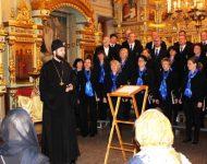 Pred vystúpením pozdravil prítomných jeromonach Alexander (Haluška