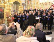 Na snímke vystúpenie  zboru