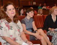 Na snímke organizátori a veľvyslankyňa Kubi