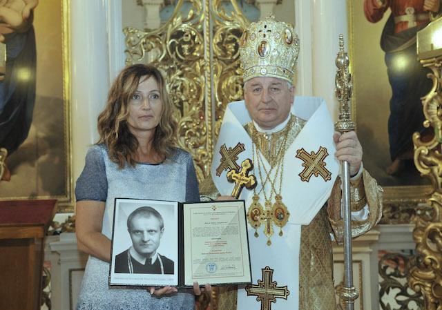61735bd3b14e4 Arcibiskup Babjak vyhlásil bl. Pavla Gojdiča za patróna mesta Prešov ...