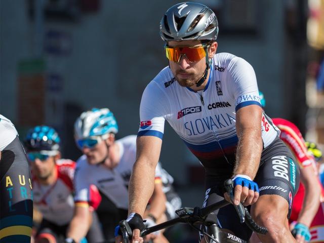 fa4d79bf24728 Na snímke slovenský cyklista Peter Sagan. Najlepším šprintérom cyklistickej  sezóny ...