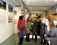 Na snímke účastníci výstavy