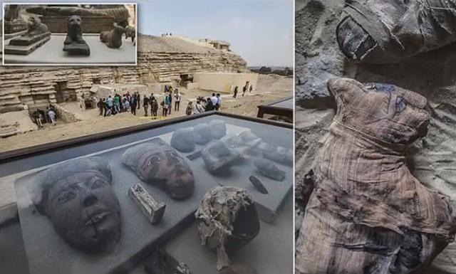V novoobjavených hrobkách našli múmie a sochy zvierat - Hlavné správy 78fabdb2469