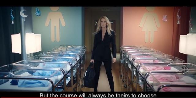 7a2ae1e6be8e Speváčka Céline Dion natočila temnú reklamu