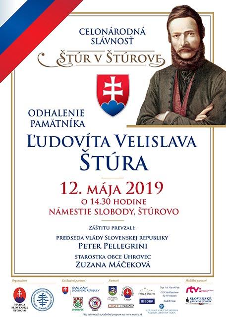60ca10e3ff3e Matičiari odhalia pamätník Ľudovíta Štúra v Štúrove už v máji ...