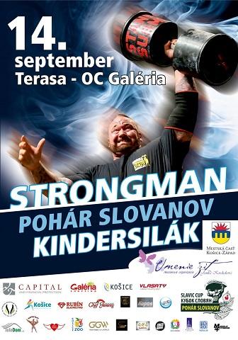Najsilnejší muži slovanských krajín si zmerajú sily na