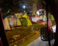 Stany migrantov v Paríži