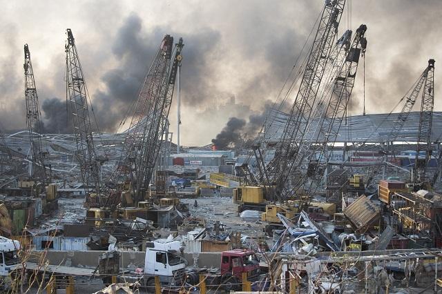 Mohutné výbuchy v Libanone