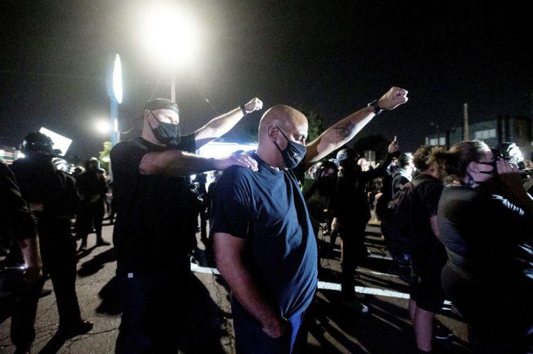 Black Lives Matter , hnutie, USA, vyhrážky, obyvatelia
