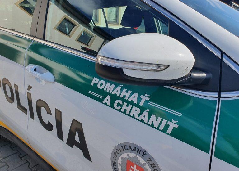 policajné auto