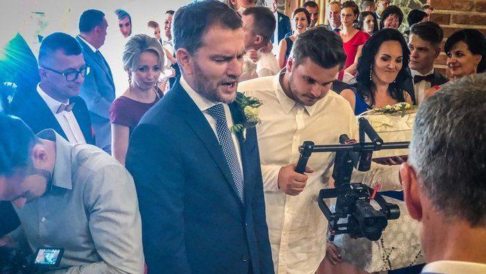 Igor Matovič svadba