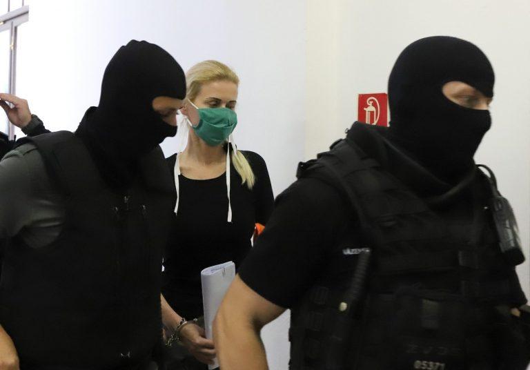 Monika Jankovská, syn, návšteva, väzenie