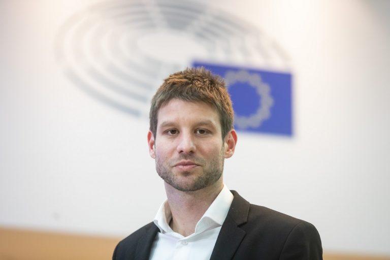 Michal Šimečka, Jozef Chovanec, Brusel
