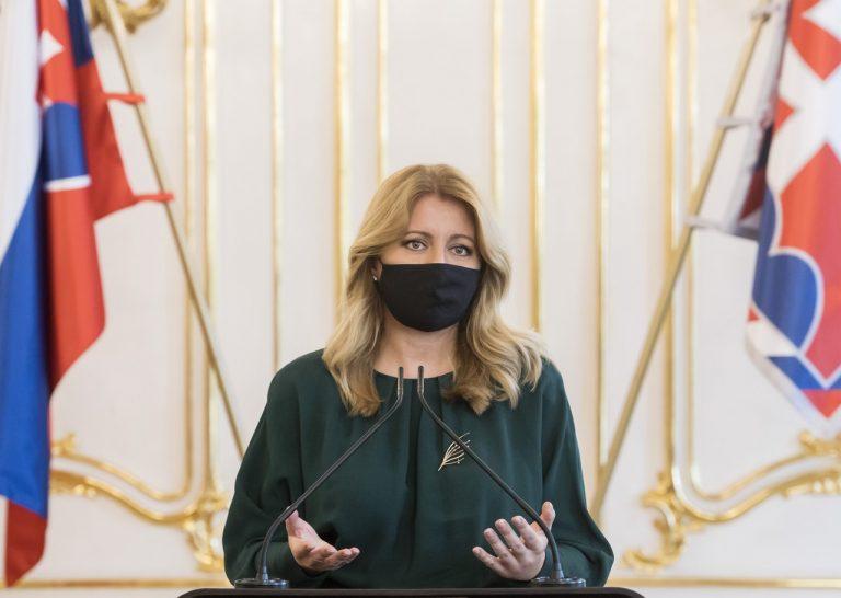 Zuzana Čaputová, prezidentka, Twitter