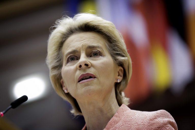 Ursula von der Leyenová, predsedíčka, EÚ
