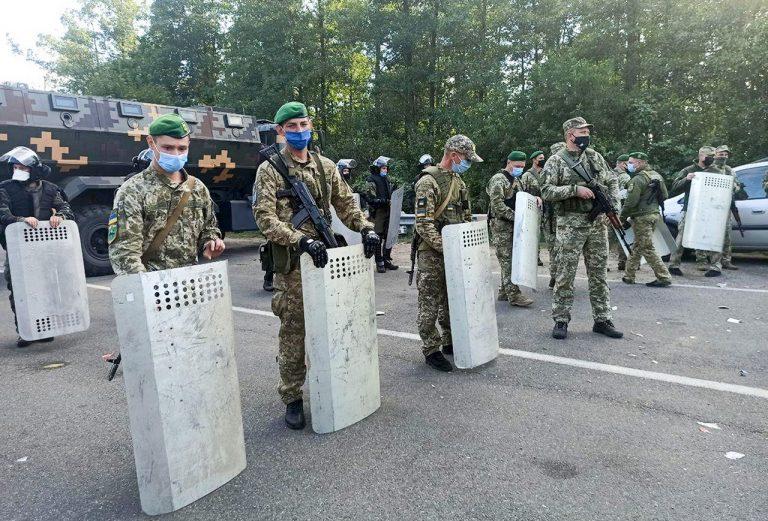 hranice, Bielorusko, Ukrajina