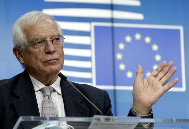 Josep Borrell, EÚ,Bielorusko