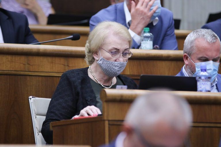 Anna Záborská, OĽaNO, odmietnutie, podpora, zákon
