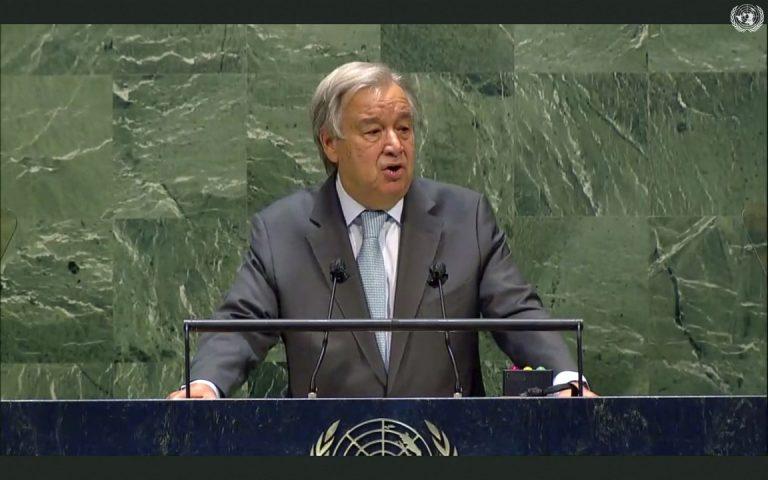 António Guterres, predseda, OSN