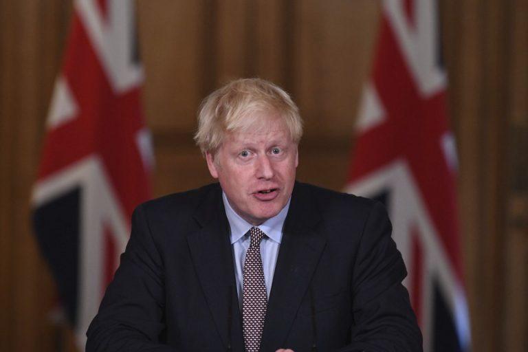 Boris Johnson, Británia, premiér