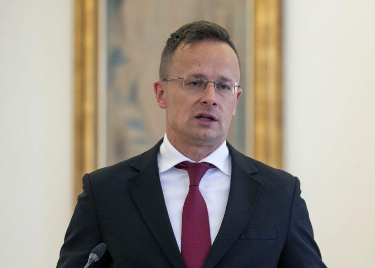 Peter Szijjarto , minister, Maďarsko