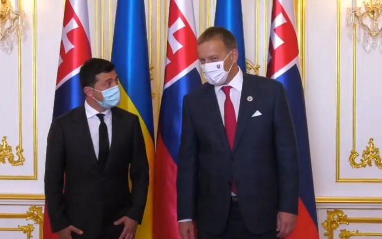 Volodymyr Zelenskyj, Boris Kollár, stretnutie