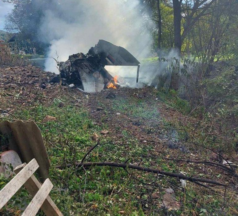 MiG-21, Srbsko, zrútenie, trosky