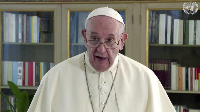 pápež František, OSN, Vlané zhromaždenie