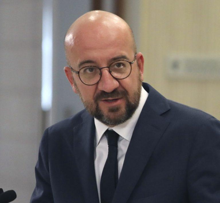 Charles Michel, predseda, Európska rada