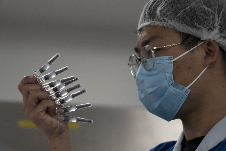 vakcína, Čína, výroba