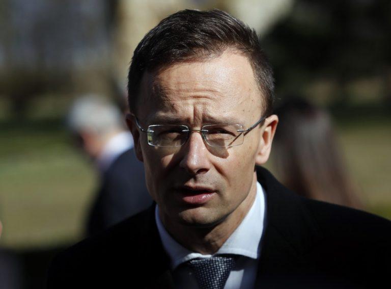 Peter Szijjarto, Maďarsko, minister, hranice
