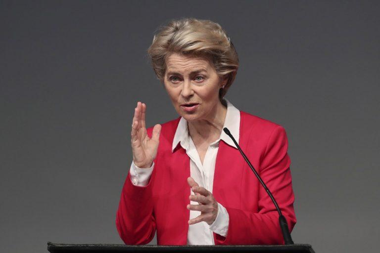 Ursula von der Leyenová, predsedníčka, EK