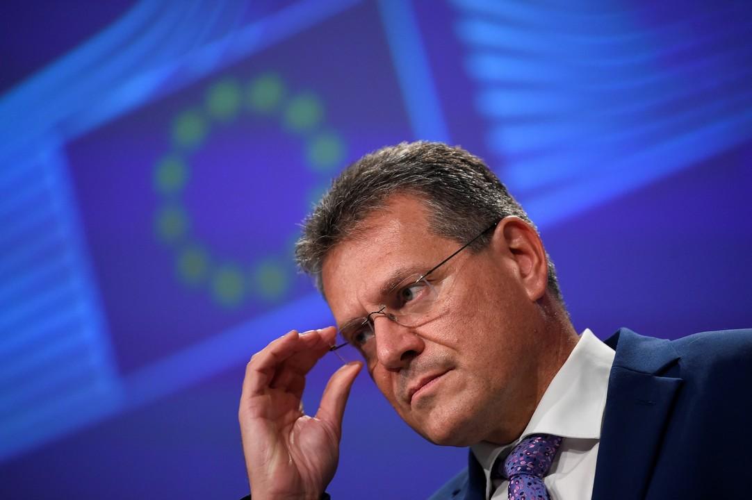 Maroš Šefčovič, komisár, EÚ