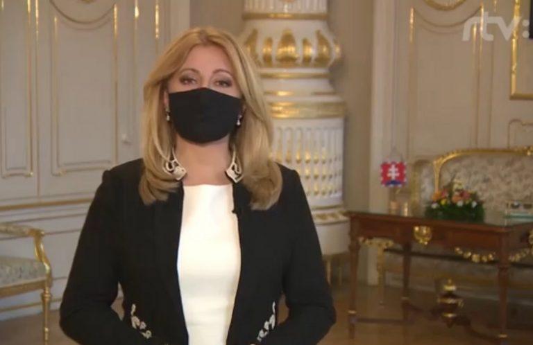 Zuzana Čaputová, prezidentka, prejav
