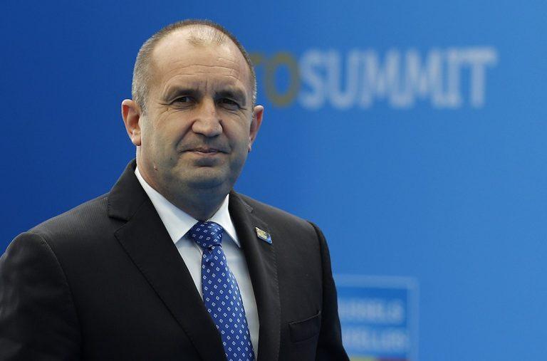 Rumen Radev, Bulharsko, prezident