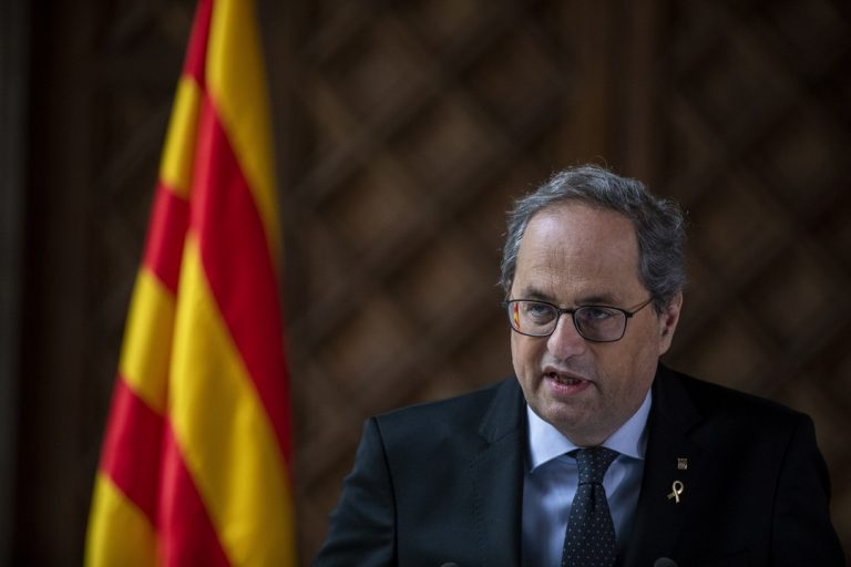 Quim Torra, Katalánsko, premiér