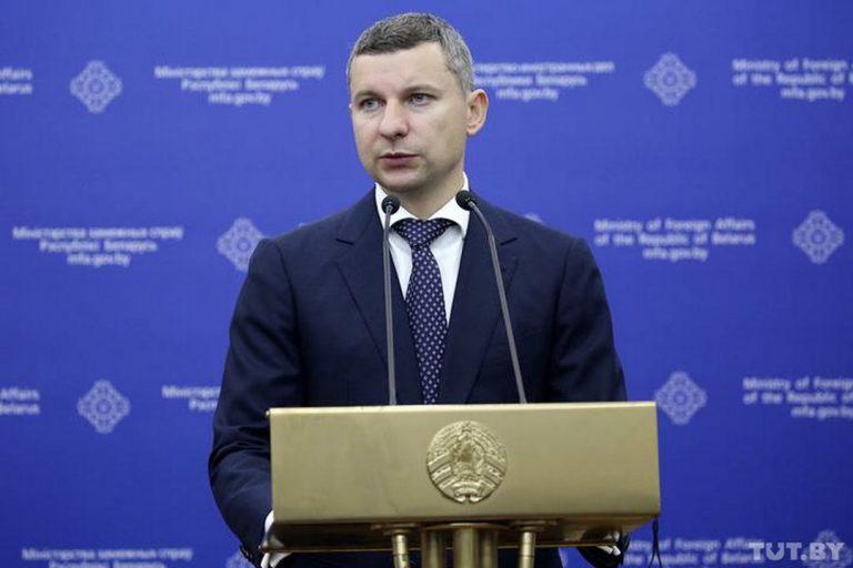 Anatolij Glaz, hovorca, vláda, Bielorusko