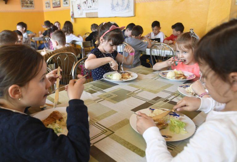 deti, obedy, financovanie, štát
