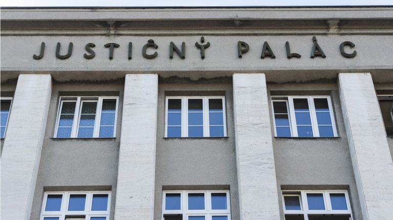 Justičný palác súd Bratislava