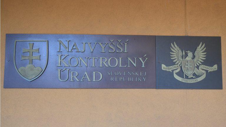 Najvyšší kontrolný úrad (NKÚ)