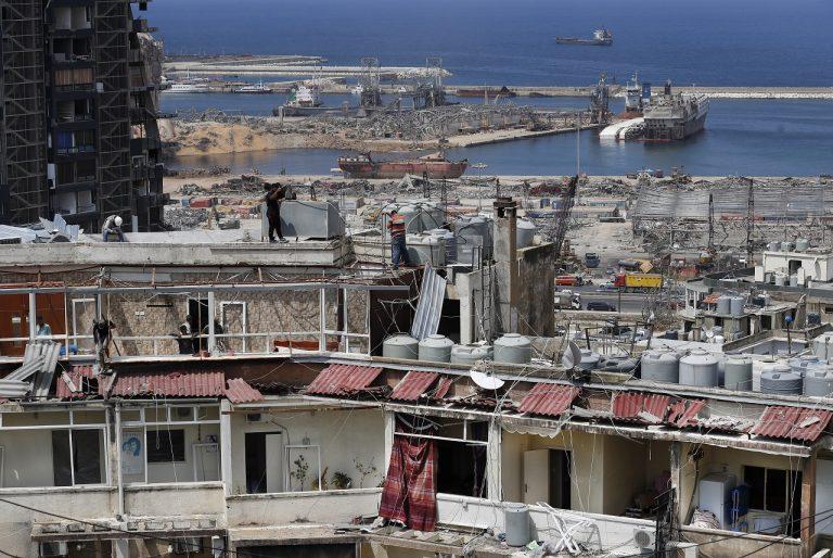 prístav v Bejrúte