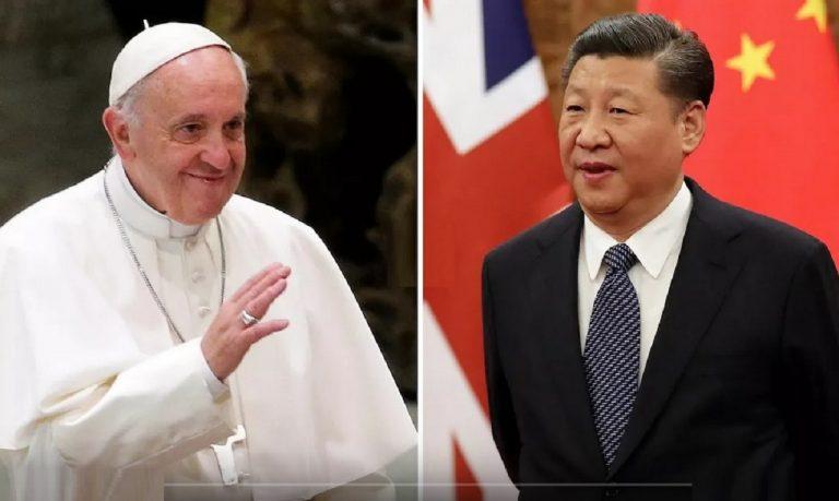 pápež František Si Ťin ping