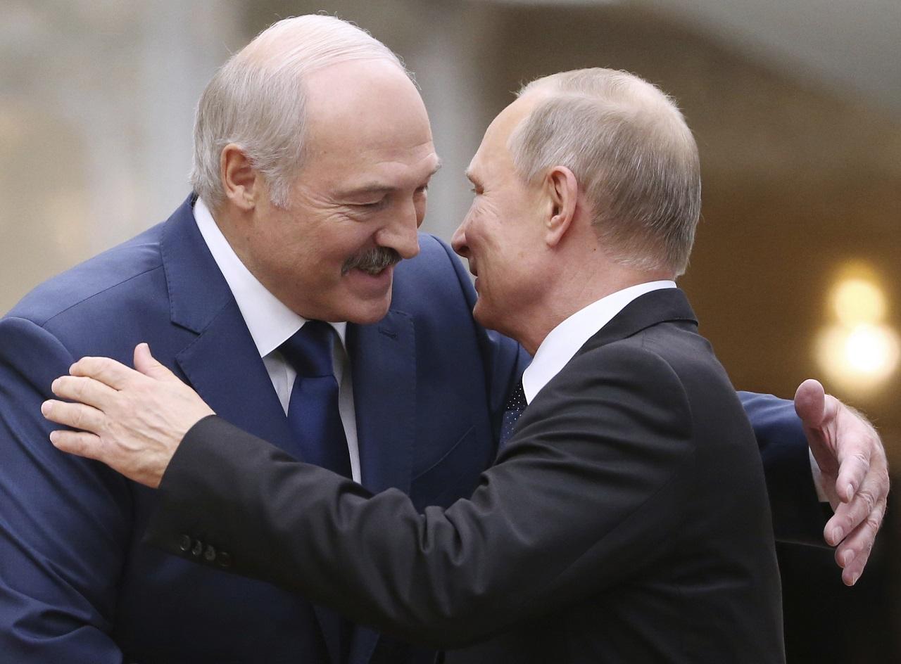 Vladimir Putin, Alexandr Lukašenko