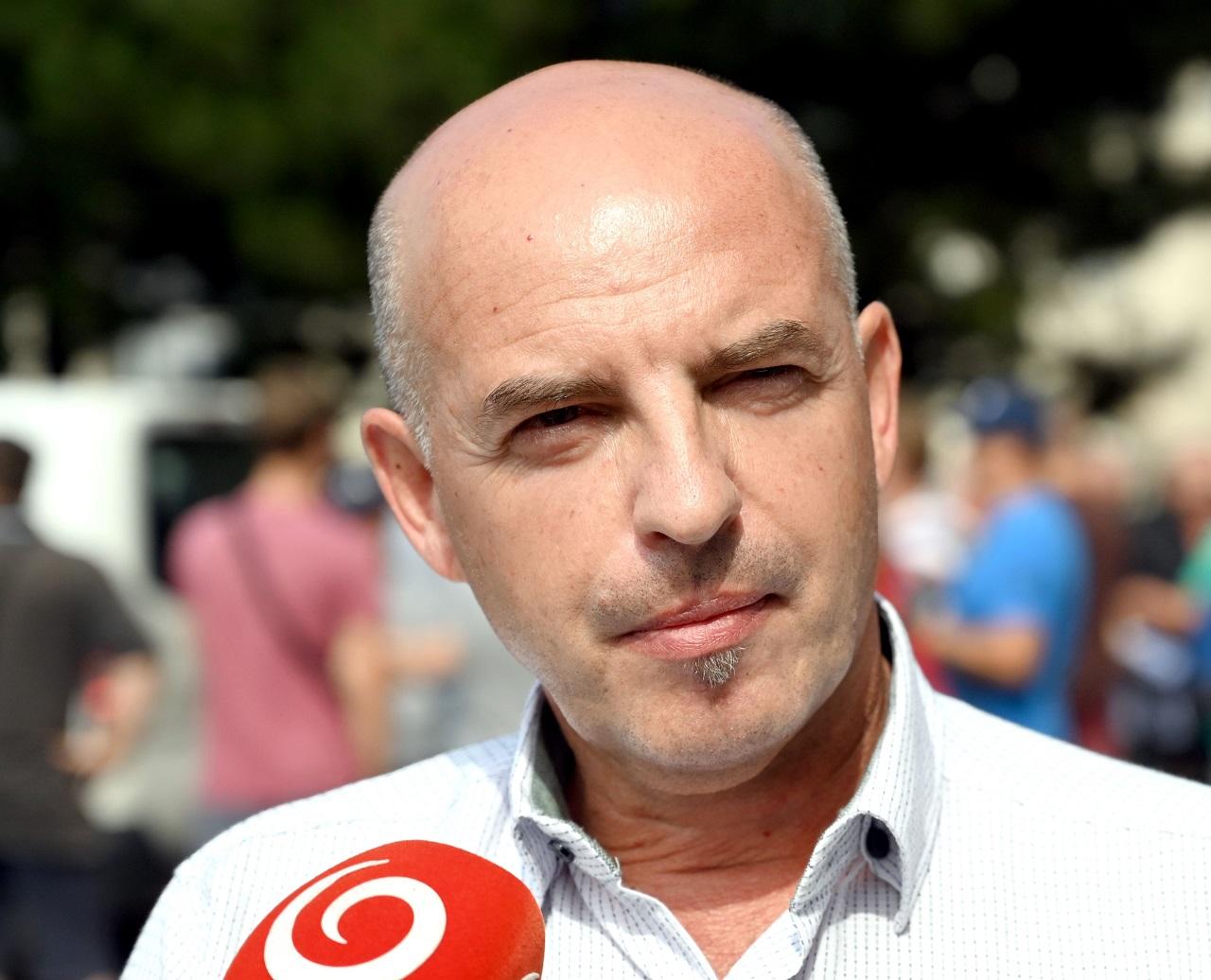 predseda Výboru Rady odborov OZ KOVOU.S.Steel Košice Juraj Varga