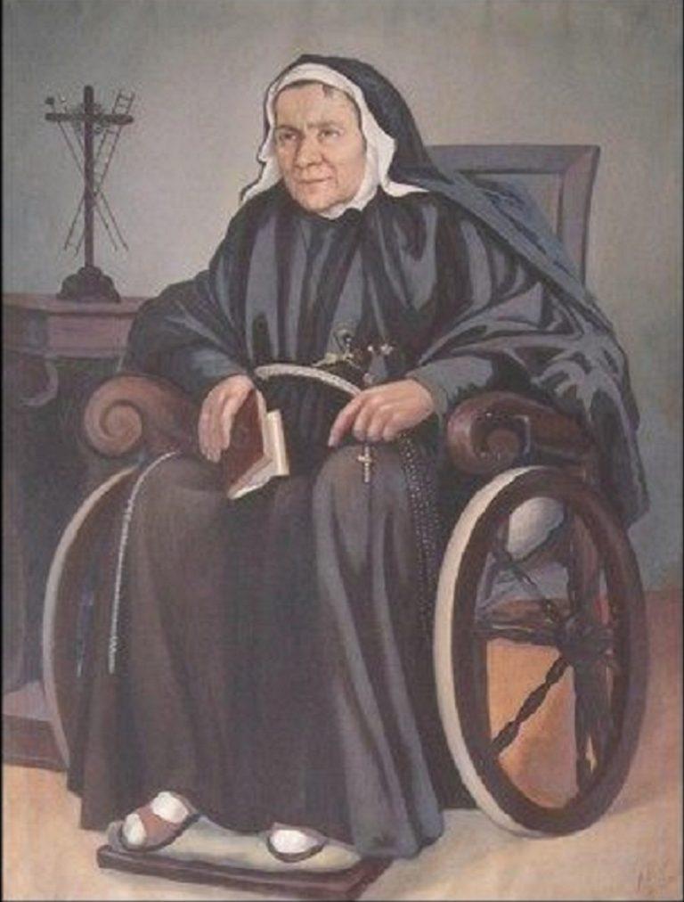 rehoľníčka a zakladateľka Inštitútu františkánskych adoračných sestier od Svätého kríža Mariu Luigiu Pascale od Najsvätejšej sviatosti