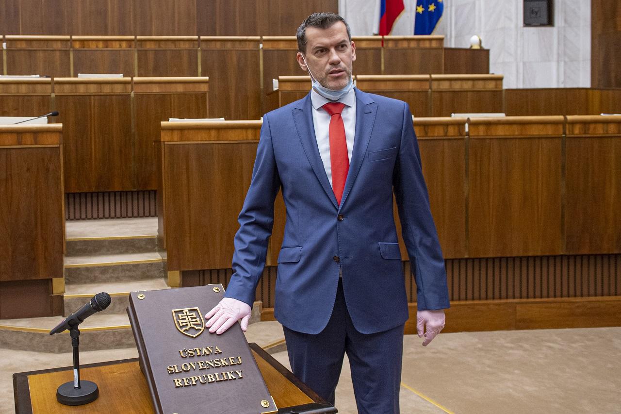 poslanec Igor Kašper Sme rodina Slovensko