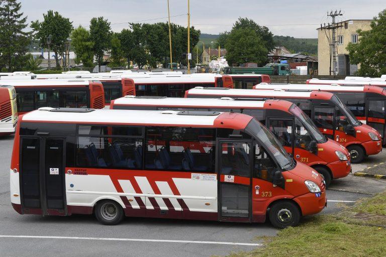 mestské autobusy Dopravného podniku mesta Prešov