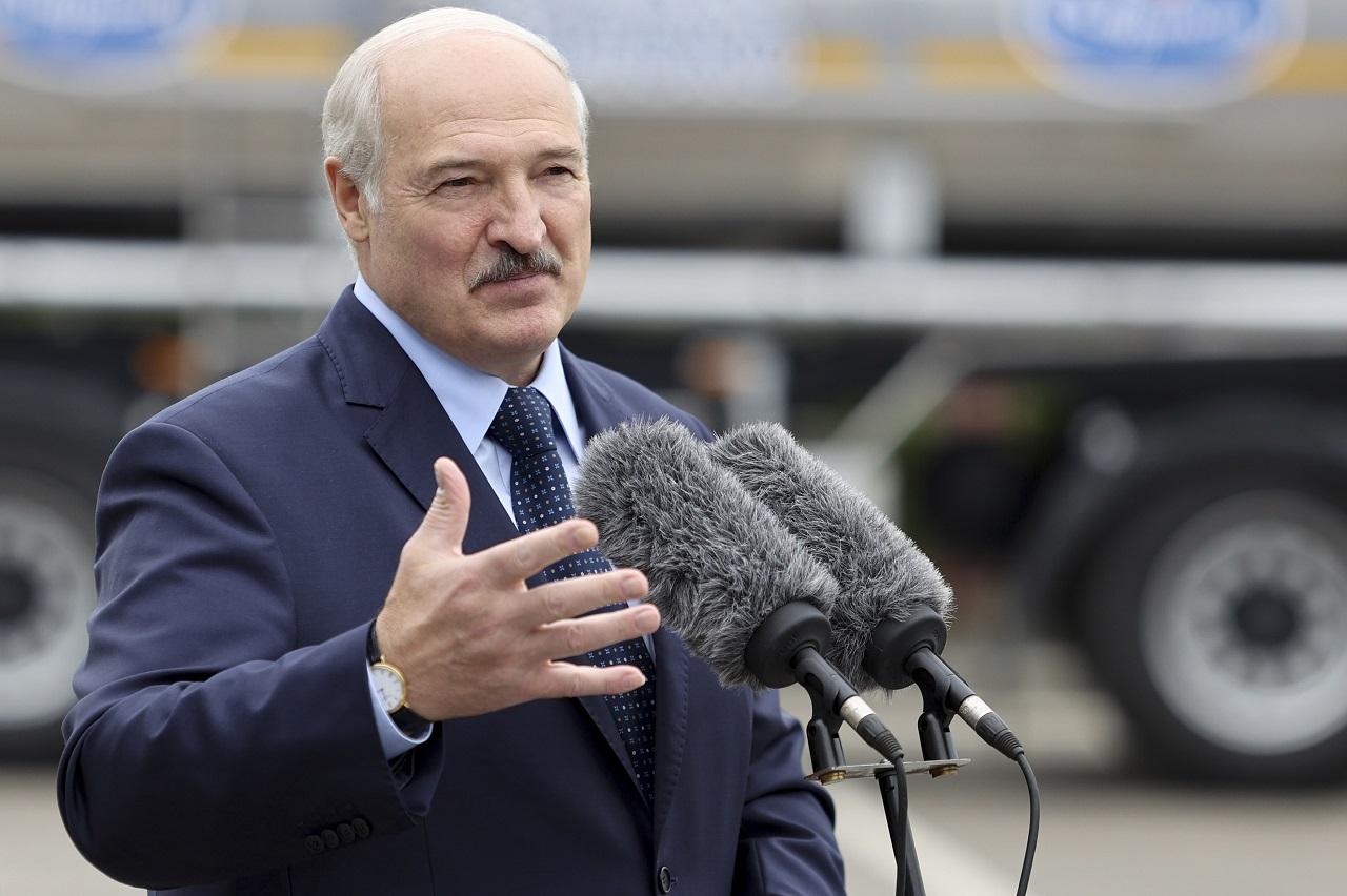 Alexandr Lukašenko, minsk, bielorusko, protesty, rusko